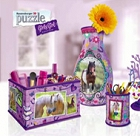 Girly Girl Puzzle 3D