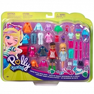Polly Pocket - Duży zestaw ubranek Polly i Nickolas GGJ49