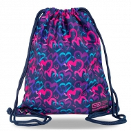 CoolPack - SOLO Worek sportowy Drawing Hearts C72141