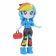My Little Pony - Equestria Girls Modne mini lalczki Rainbow Dash E4237