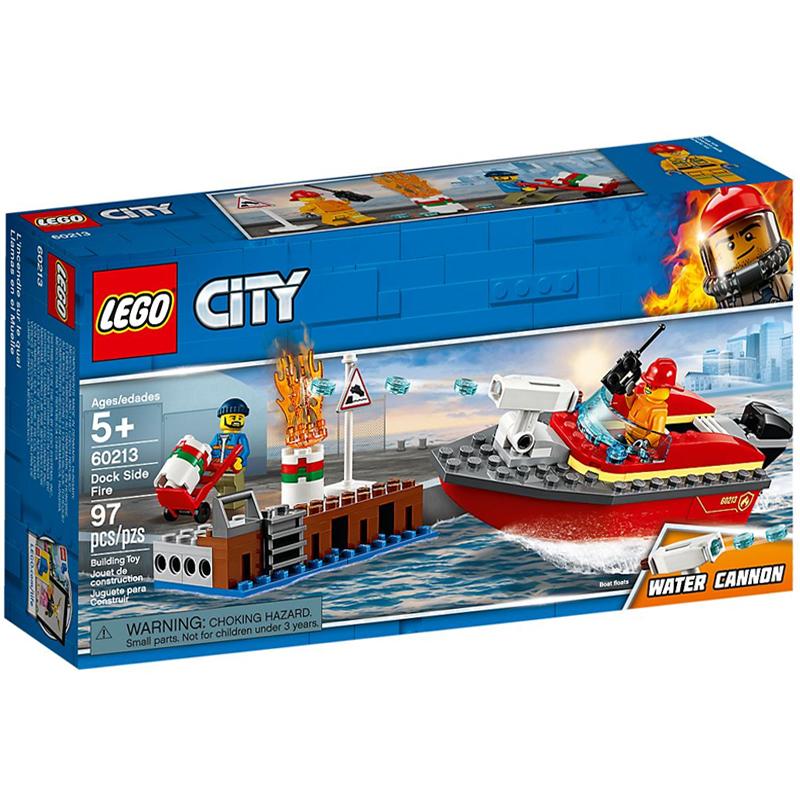 LEGO 60213 Lego LEGO City - Pożar w dokach...