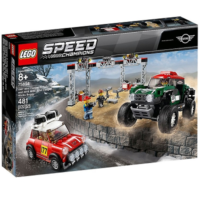 LEGO Speed Champions - 1967 Mini Cooper S Rally oraz 2018 MINI John Cooper Works Buggy 75894
