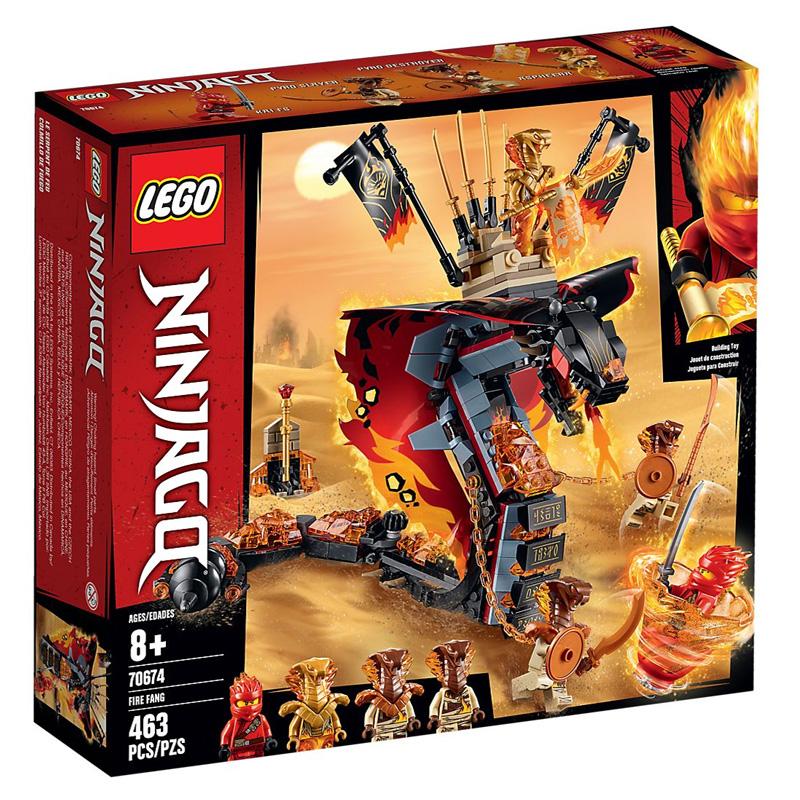 LEGO 70674 Lego LEGO Ninjago - Ognisty kieł...