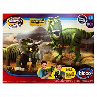 Dumel Discovery Creatives - T-REX i TRICERATOPS 35002