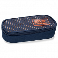 CoolPack - CAMPUS Piórnik z organizerem Dots Orange 62063