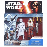 Star Wars - Epizod 7 Figurki 2 pack First Order Snowtrooper officer i Snap Wexley B5895 B3955