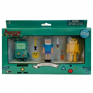 Adventure Time - Zestaw 3 figurek Finn, Jake i Bmo 7cm 14609