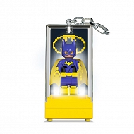 LEGO Batman Movie - Latarka LED i brelok 2w1 Batgirl w gablocie KE129