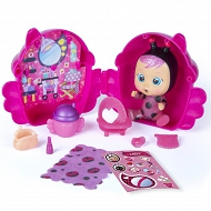 IMC Toys Cry Babies Magic Tears seria brokatowa różowy domek 90859