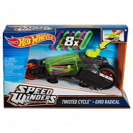 Hot Wheels - Autonakręciaki Twisted cycle czarny DPB67 DPB66