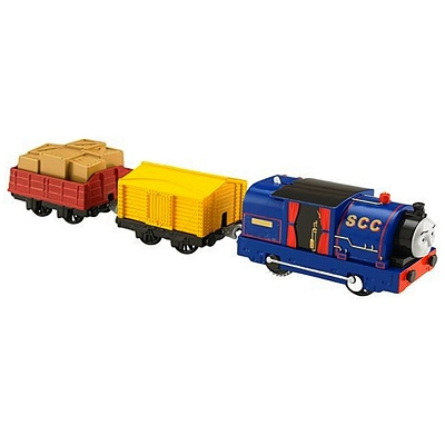 Fisher Price - Trackmaster Timothy z dwoma wagonikami BDP08
