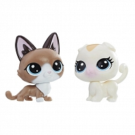 Littlest Pet Shop - Zwierzaki mini Kotki 2pak E0946