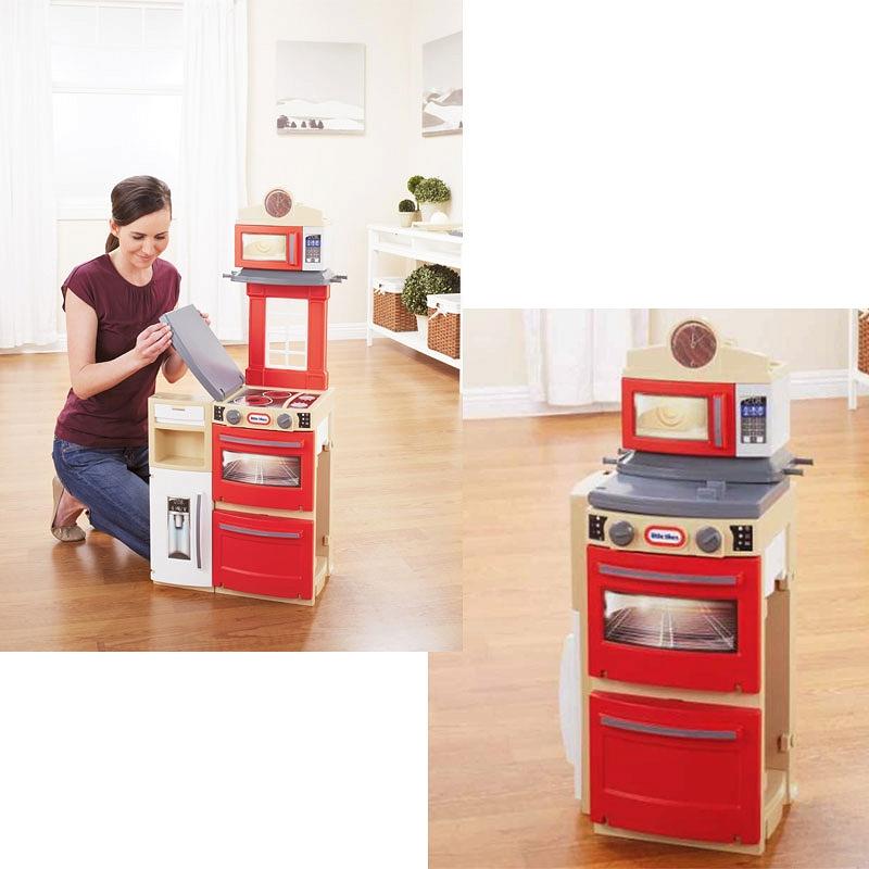 Little Tikes  Kuchnia kompaktowa Cook and Store 638701 -> Kuchnia Szefa Kuchni Little Tikes Opinie