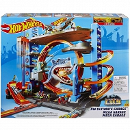 Hot Wheels City - Mega Garaż Rekina + 2 autka FTB69