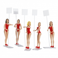 Carrera - Zestaw figur, Grid Girls 21113