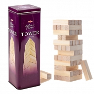 TacTic - Collection Classique Tower jenga w puszce 14004