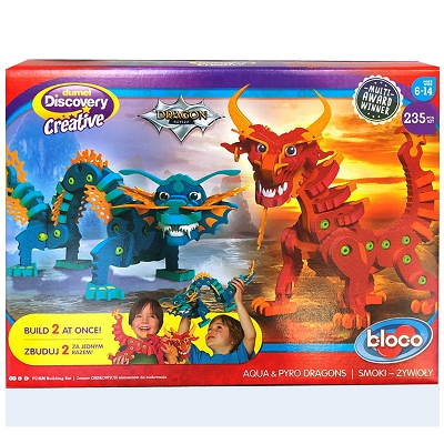 Dumel Discovery Creatives - Aqua & Pyro Dragons 35001