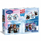 Clementoni - Super kit Frozen 4 w 1 08208