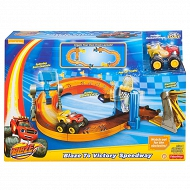 Fisher Price - Blaze Tor + Autko FDN62