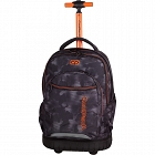 CoolPack - SWIFT Trolley Plecak na kółkach Misty Orange 70652