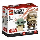 Lego BrickHeadz - Luke Skywalker™ i Yoda™ 41627