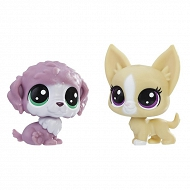 Littlest Pet Shop - Zwierzaki mini Pieski 2pak E0945