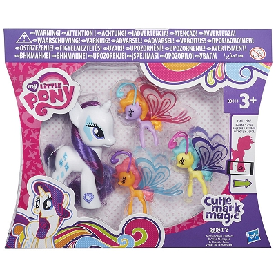 Hasbro My Little Pony - Kucyk Rarity i Bryzusie B3014 B0358