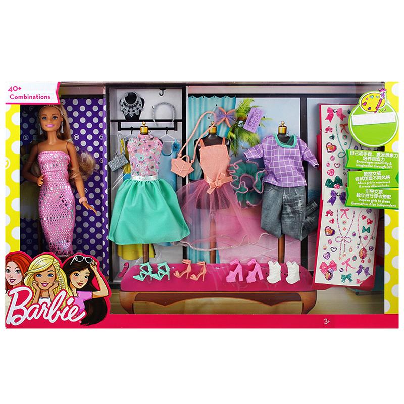 Barbie DVJ64 Barbie Barbie Fashionistas -...