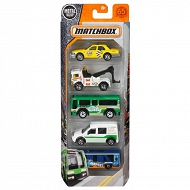 Matchbox - 5-pak City Transport FMV29