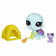 Littlest Pet Shop - Zwierzaki i akcesoria Bev i Kelly E0463