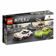 LEGO Speed Champions - Porsche 911 RSR i 911 Turbo 3.0 75888