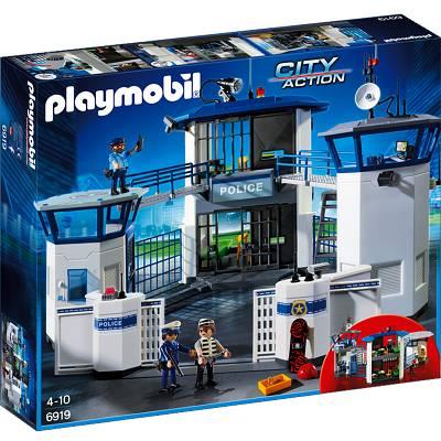 Playmobil Komisariat Policji Z Więzieniem 6919