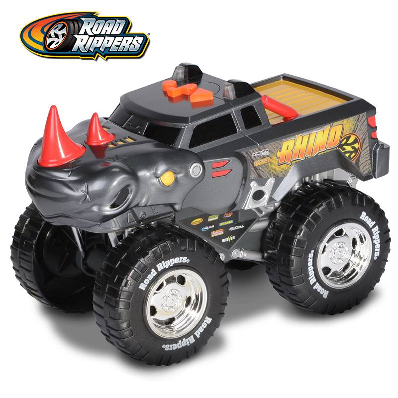 Road Rippers - Wheelie Monster Roarin Rhinoceros 33761